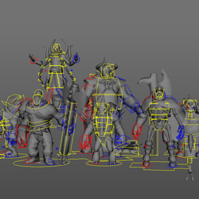 Dota 2 Rigs (FREE) – Animator's Resource Kit